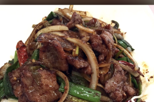 68. Mongolian Beef - delivery menu
