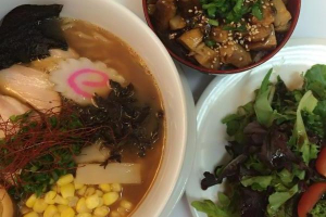 2. Ramen, Chashu Bowl and House Salad Combination - delivery menu