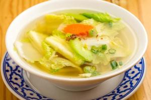 Vegetable Ginger Soup - delivery menu