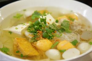 85. Tofu Fish Ball Noodle Soup - delivery menu
