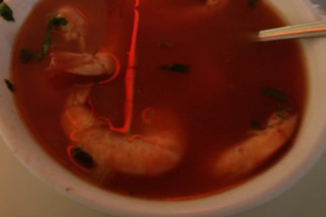 2. Shrimp Soup - delivery menu