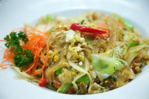 80. Pad Woon Sen Noodles - delivery menu