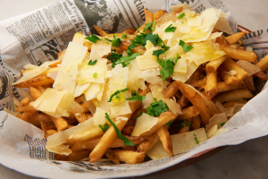Truffle Fries and Parmesan - delivery menu