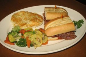 B.B.Q. Beef Sandwich - delivery menu