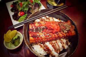 Barbecued Eel Bowl - delivery menu