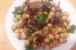 Spinach and Chick Peas Salad - delivery menu