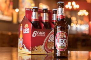 Leo (Thai Pale Lager, 5.5% Alc) 11.2 oz Bottle or 6-Pack Bottles - delivery menu
