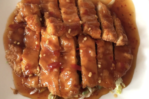 91. Peking Crispy Chicken with Ginger Sauce - delivery menu