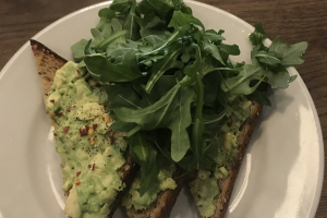 Avocado Toast - delivery menu