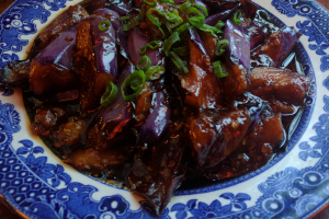 Eggplant with Garlic Sauce - delivery menu