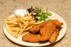 18. Chicken Tender with Fries - delivery menu