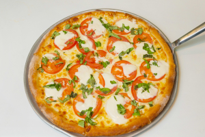 Caprese Pizza - delivery menu