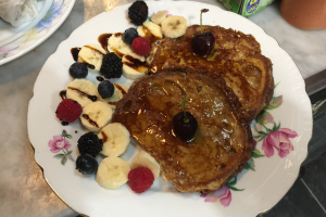French Toast Breakfast - delivery menu