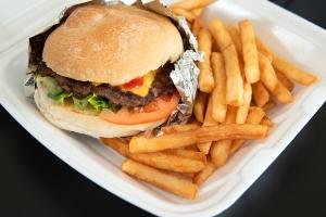 Cheeseburger Combo - delivery menu