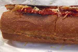 Chicken Parmigiano Sandwich - delivery menu