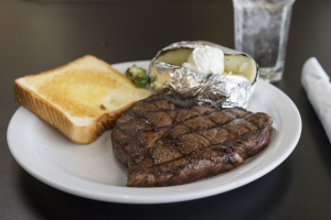 9 oz. Sirloin Steak - delivery menu