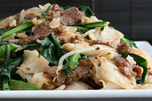 215. Beef and Chinese Broccoli Chow Fun - delivery menu