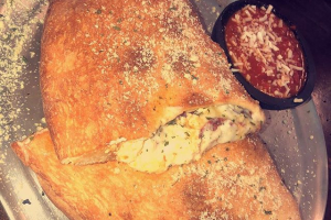 Meat Calzone - delivery menu