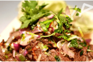 Spicy Beef Salad - delivery menu