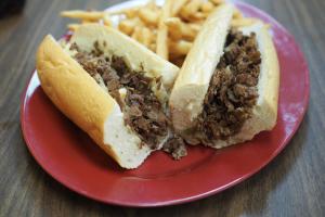 8 oz. Cheesesteak - delivery menu