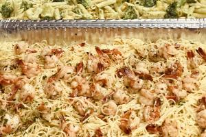 Shrimp Scampi Tray - delivery menu