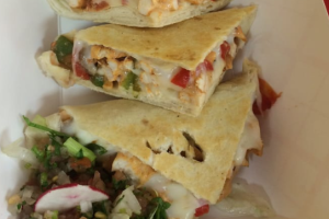 2. Grilled Chicken Quesadilla - delivery menu