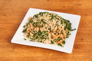 Garlic Kale & Quinoa Medley - delivery menu