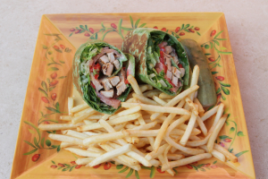 Grilled Chicken Caesar Wrap - delivery menu