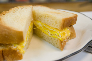 B2. 2 Egg and Cheese Sandwich - delivery menu