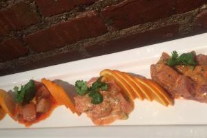 Sashimi Four  Ways - delivery menu