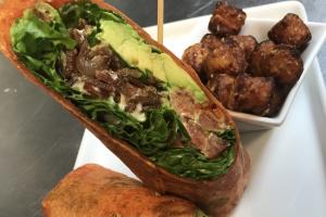 BLT Wrap Lunch - delivery menu