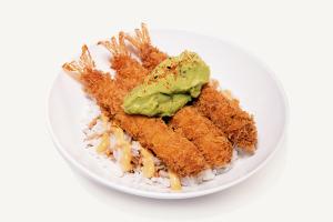Shrimp Katsu Rice Bowl - delivery menu