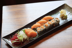 Salmon Sampler Set - delivery menu