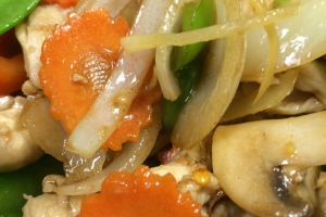 Ginger Sauteed Entree - delivery menu