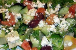Garden Salad with Grilled Shrimp  - delivery menu
