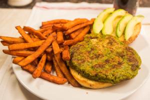 Veggie Burger Deluxe - delivery menu