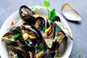 Mussels - delivery menu