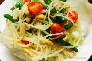 Esan Papaya Salad - delivery menu