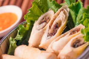 Spicy Basil Rolls - delivery menu