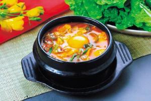 Vegetable Tofu Stew (Soondubu) - delivery menu