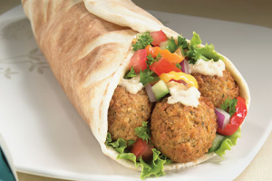 L27. Falafel Sandwic  Peter - delivery menu