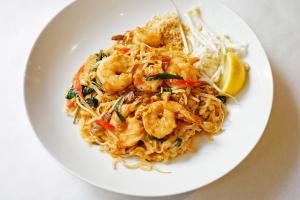 Shrimp Pad Thai - delivery menu