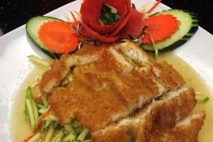 Apple Fish Salad - delivery menu