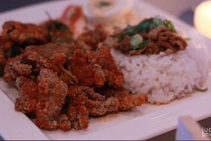 5. Taiwanese Crispy Chicken Rice Bento Box - delivery menu