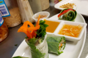 Veggie Fresh Rolls - delivery menu