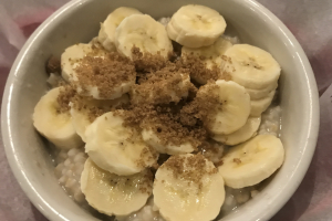 Oatmeal w/ Banana & Brown Sugar - delivery menu