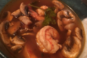 201. Tom Yum Goong Soup - delivery menu