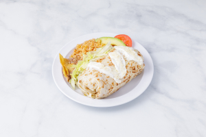 Pollo Burrito - delivery menu
