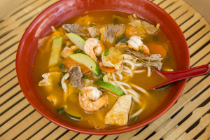 Korean Noodle Soup - delivery menu