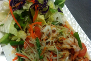 304. Papaya Salad - delivery menu